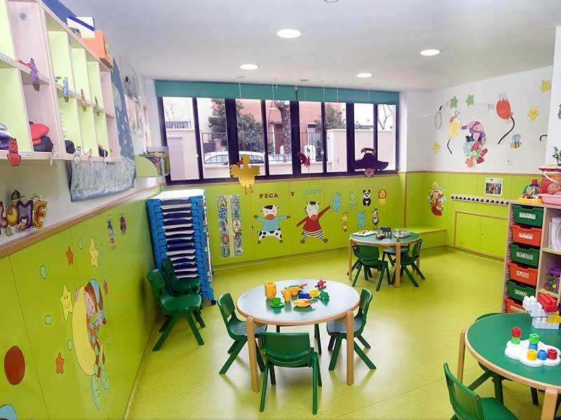 Escuela infantil en madrid trazos - Escuela decoracion madrid ...